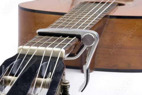 Valokuva Musique - Guitare classique et capodastre