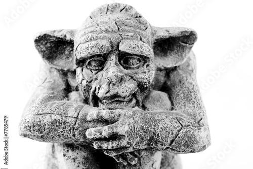 head of sitting troll фототапет