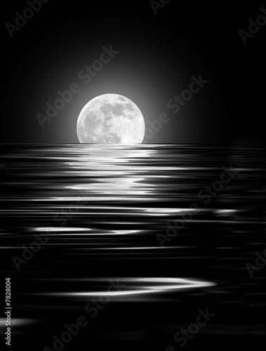 Fototapety, obrazy: Moon Glow