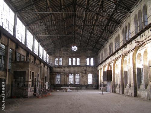 Fotobehang Oude verlaten gebouwen Industrial archeology