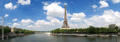 Foto op Canvas Parijs tour Eiffel