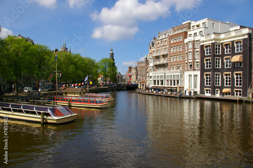 Photo  Canals in Amsterdam