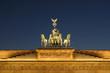 Leinwandbild Motiv Brandenburg gate