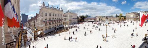 Valokuva  place Stanislas Nancy panoramique 180°