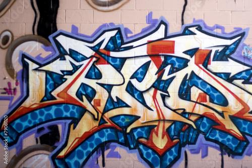 Fotobehang Paradijsvogel Street Graffiti