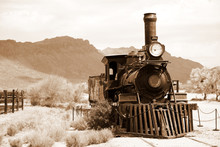 Antique USA  Train