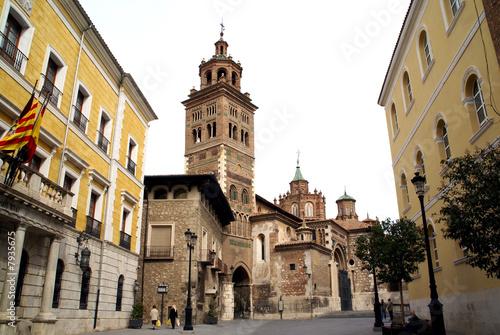 Ayuntamiento y Catedral de Teruel - Aragon