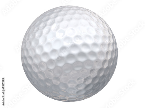 Canvastavla Golf Ball