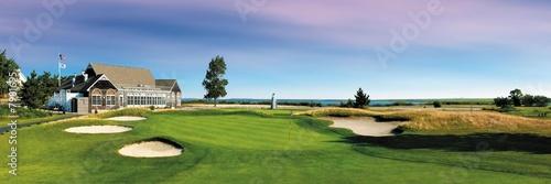 Obraz na plátně  parcours de golf