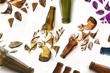 A Lot Of Broken Bottles