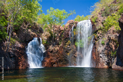 Poster Australië Florence Falls at Litchfield in northern Australia