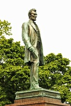 American Civil War Memorial In Edinburgh, Scotland