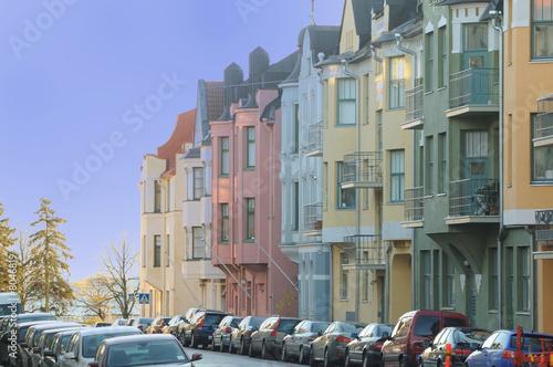 Obraz na plátně Rue helsinki