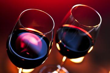 Fototapeta Do gastronomi Wineglasses