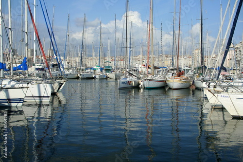 Fototapety, obrazy: port plaisance
