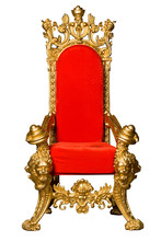 Royalty's Throne. Ornate. On W...