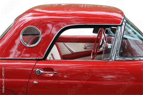 фотография  Classic Red Car