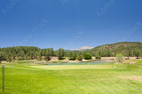 Poster Golf Arizona golf course