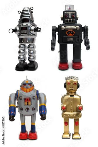 Deurstickers Robots Robots