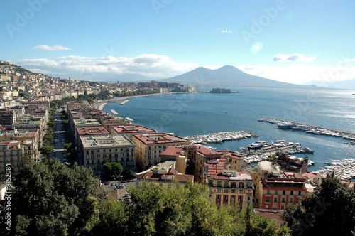 Photo sur Toile Naples golfo di napoli