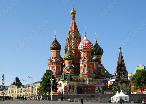 Wall Murals Moscow St Basil's Cathedral, Moscow, Russia