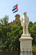 Cuba Monument Statue Of Carlos Manuel De Cspedes
