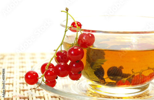 Poster Sap Red currant and tea