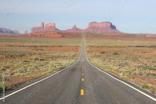 Canvas Prints Route 66 Monument Valley