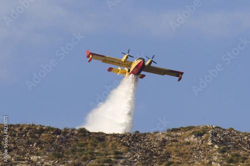 Fotografia  Canadair - Soccorso aereo