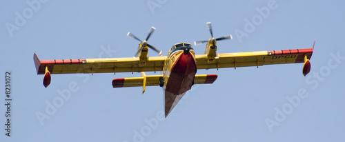 Fotografia  Canadair - Vigili del fuoco