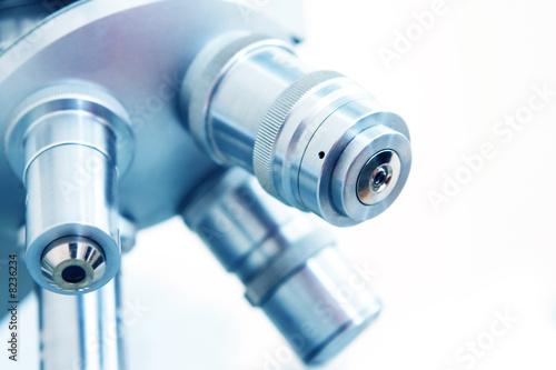 Fotografia  Microscope in lab