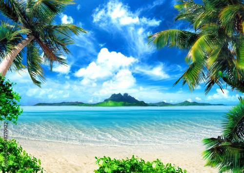 Foto-Kissen - magical coast