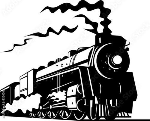 Fototapeta Steam locomotive obraz