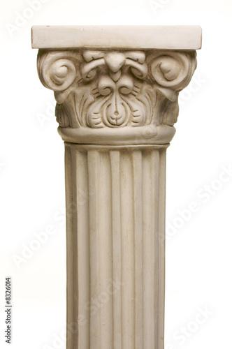 Fotografie, Obraz  Ancient Column Pillar Replica