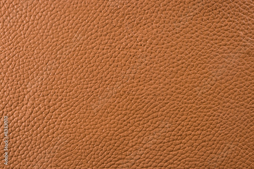 Deurstickers Leder Natural leather texture