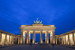 canvas print picture Brandenburg Gate - Berlin, Germany