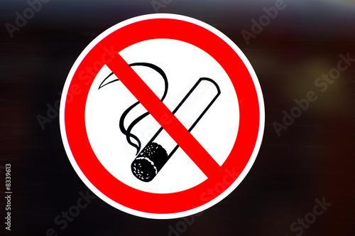 Fotobehang Rook Rauchen ist Sucht 2