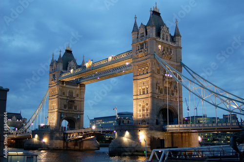 Photo  Tower Bridge in London England