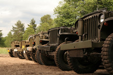 American Army Cars