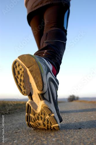 Foto op Canvas Jogging Jogger