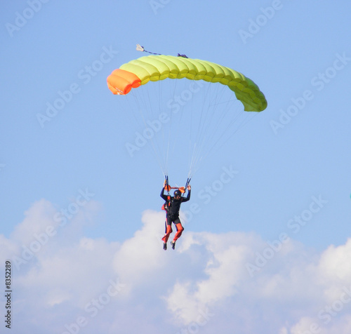 Fotografie, Obraz Parachutiste