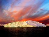 Wschód słońca, Antarktyda - 8355872