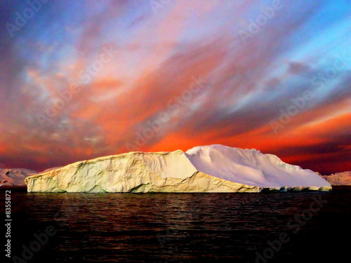 Sunrise, Antarctica