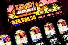 Slot Machines, Las Vegas, Nevada