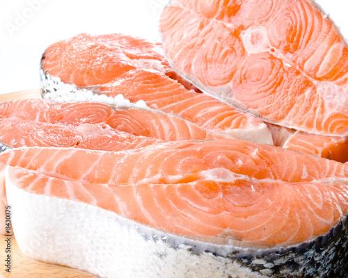Poster Fish Fresh salmon