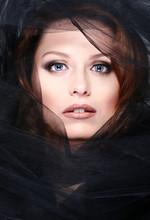 Portrait Of Young Beautifull Woman