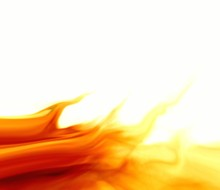 Flame. Illustration