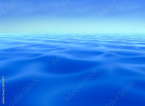 Poster Mer / Ocean mare_blu