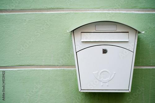 Valokuvatapetti mailbox
