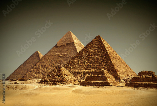 Photo  Pyramides - Gizeh / Egypt
